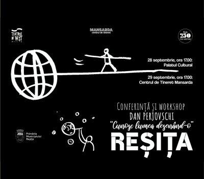 Conferință și workshop DAN PERJOVSCHI